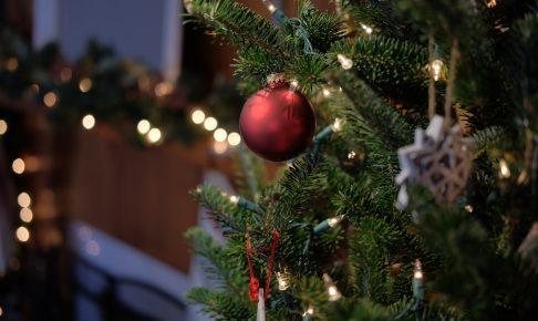 12月のクリスマスツリー